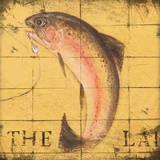 Lodge Fish Prints by Stephanie Marrott