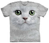 Youth: Green Eyes Face T-Shirt