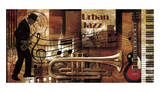 Urban Jazz Prints by Paul Robert