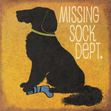 Missing Sock Department Art by Jo Moulton