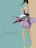 Swank Print by Ashley David