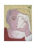 Head of a Woman, 1924 Kunstdrucke von Pablo Picasso