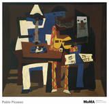 Three Musicians Kunstdrucke von Pablo Picasso