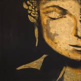 Zen Buddha Art by JC Pino