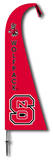 NCAA North Carolina State Wolfpack Feather Flag Flag