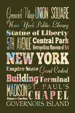 New York II Posters by Helen Chen