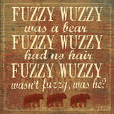 Fuzzy Wuzzy Art by Jo Moulton