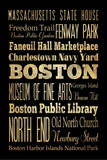 Boston Posters by Helen Chen