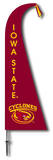 NCAA Iowa State Cyclones Feather Flag Flag