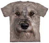 Youth: Miniature Schnauzer Face Shirt