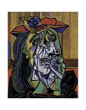 Weeping Woman, 1937 Art by Pablo Picasso
