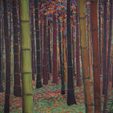 Magical Forest Print by Don Li-Leger
