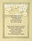 Laugh When You Can Art by Karen Tribett