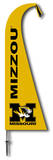 NCAA Missouri Tigers Feather Flag Flag