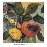 Rose Garden I Prints by Jennifer Harwood