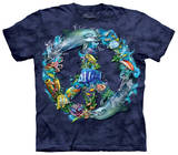 Youth: Underwater Peace T-shirts