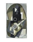 L'homme à la guitare, 1918 (giclée) Affiches par Pablo Picasso