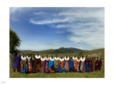 Colors of Maasai Photographic Print by Nigel Barker