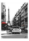 Paris II Prints by Jo Fairbrother