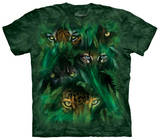 Youth: Jungle Eyes T-shirts
