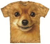 Youth: Pomeranian Face T-shirts