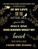 My Love Print