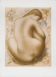Seated Nude Limited Edition by Alain Bonnefoit