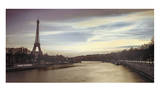 Paris Sunset Prints by Assaf Frank