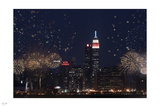 Fireworks over New York Photographic Print by Nigel Barker