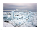 Broken Ice Photographic Print by Nigel Barker