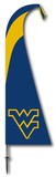 NCAA West Virginia Mountaineers Feather Flag Flag