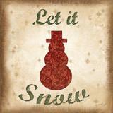 Let it Snow Prints by Jennifer Pugh