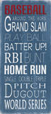 Baseball Print by Holly Stadler