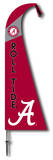NCAA Alabama Crimson Tide Feather Flag Flag
