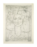 Portrait of Francoise, dressed... Plakat af Pablo Picasso