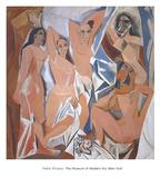 Les demoiselles d'Avignon Kunstdrucke von Pablo Picasso