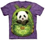 Youth: Backpack Panda T-Shirt