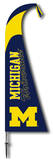 NCAA Michigan Wolverines Feather Flag Flag