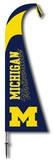 NCAA Michigan Wolverines Feather Flag Bandera