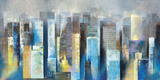Metropolis Vista II Posters by Georges Generali