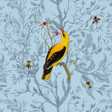 Golden Oriole Posters par  Timorous Beasties