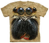 Youth: Jumping Spider Face T-shirts