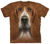 Youth: Basset Hound Head T-Shirt