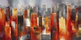 Metropolis Vista I Affiches par Georges Generali