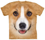 Youth: Corgi Face Tシャツ