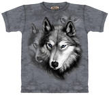 Youth: Wolf Portrait T-shirts