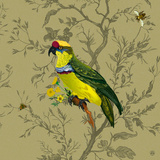 Pisticule Parrot Poster by  Timorous Beasties