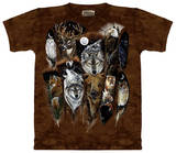 Youth: Animal Feathers T-shirts