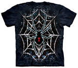 Youth: Tie Dye Spider T-shirts
