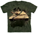 Youth: Abrams Tank Breakthrough - T shirt
